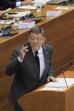 Ximo Puig. (Foto-Manuel Molines).
