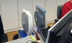 ventiladores oficina empleo Alfambra