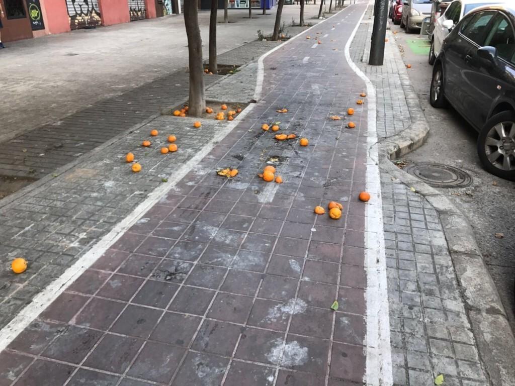 071017 GPP carril bici naranjas