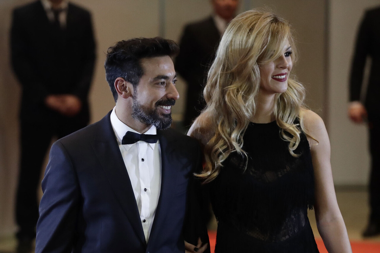 "Yanina Screpante, Ezequiel ""Pocho"" Lavezzi"