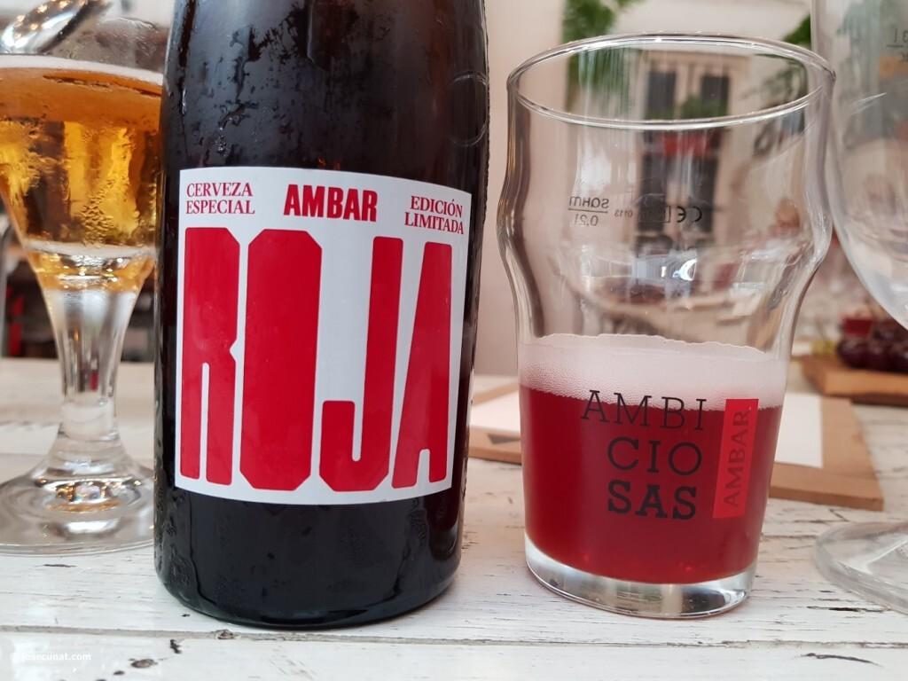 Ambar roja. maridaje en Valencia con cervezas ambar (56)