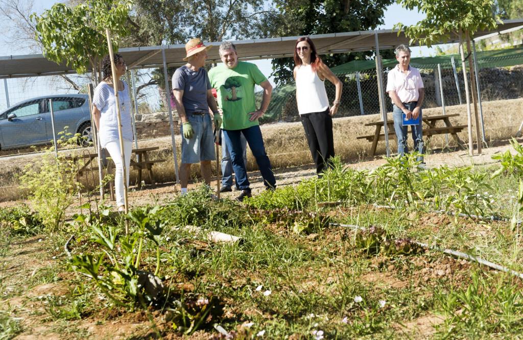 Amigó y Bort visitan huertos hurbanos en Paiporta foto_Abulaila (2)