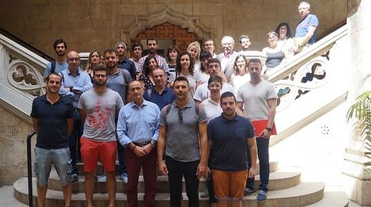 Bartolomé Nofuentes se reúne con los postgraduados del programa de Gestión y Retención del Talento en el área medioambiental.