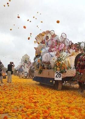 Batalla de Flores.