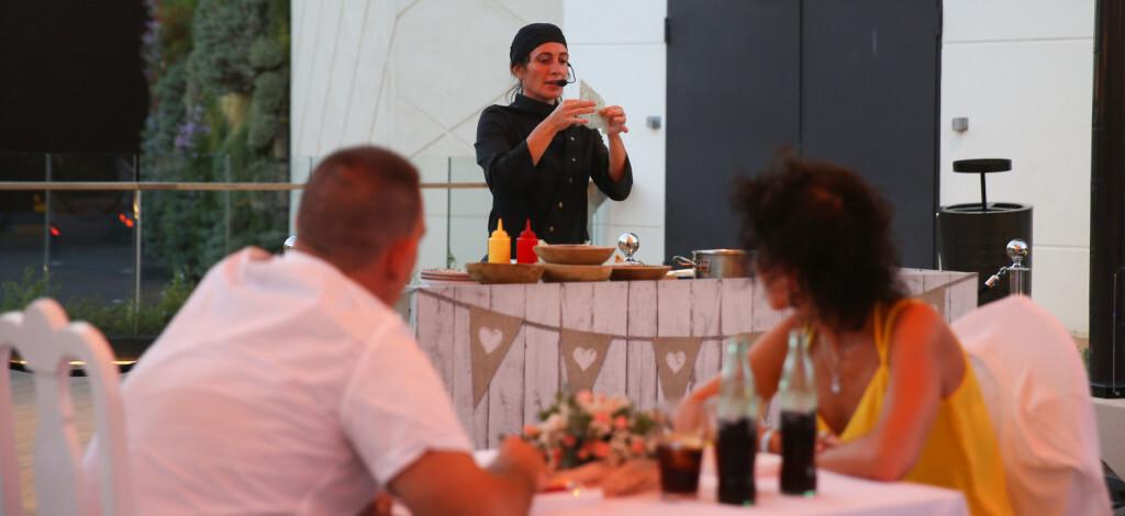 Begoña Rodrigo y su restaurante Nómada Cena Romántica que Las Terrazas de Bonaire showcook (1)