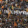 Cae al 41,1 por ciento los partidarios de la independencia de Cataluña según un sondeo del Centro de Estudios de Opinión.