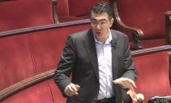 Ciudadanos exige medidas de seguridad en la ampliación del doble sentido provisional de Barón de Cárcer. Narciso Estellés. (Ciudadanos).