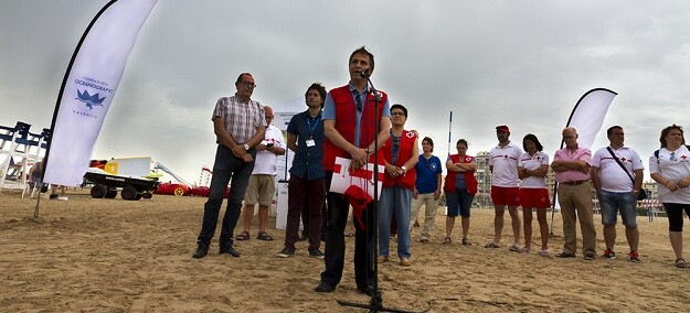 Cruz Roja Española y la Fundación Oceanogràfic han presentado hoy en Gandia la campaña.