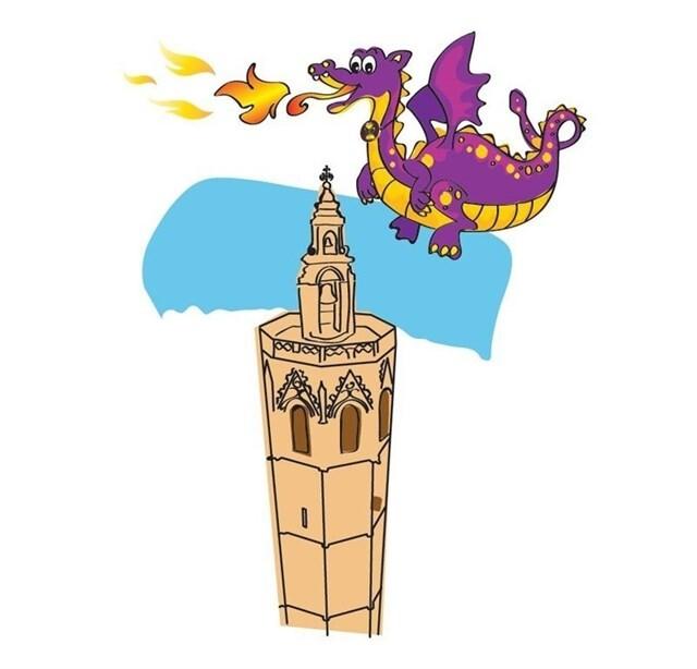 'Dragolete', nueva mascota de las actividades infantiles del Museo de la Catedral de València