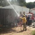 El Ayuntamiento imparte al vecindario de la Devesa charlas formativas de autoprotección en caso de incendios forestales.