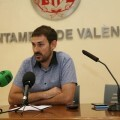 El Ayuntamiento inicia medio centenar de intervenciones para mejorar los colegios de València. (Sergi Campillo).