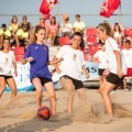 El Cabanyal da una lección de deporte en igualdad en el torneo decano del fútbol playa.