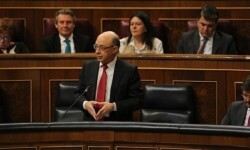 El Gobierno logra sacar adelante el techo de gasto con el apoyo de Cs y el respaldo de PNV.