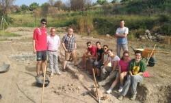 El IVAJ estrena este verano un campo de voluntariado juvenil en la villa romana El Prado, en Viver