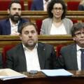 El Parlament catalán aprueba la reforma del reglamento que facilitará el 1-O.