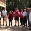El bosque de la Devesa cuenta desde el sábado con el trabajo del segundo voluntariado ambiental consecutivo para todo el verano.