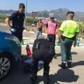 El ciclista Ángel Vicioso y un triatleta, atropellados por un coche en Xeraco