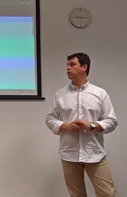 El diputado Ivan Martí durante la presentación de las Jornades Formativas.