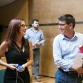 El presidente de la Diputación, Jorge Rodríguez, y la vicepresidenta Mª Josep Amigó.