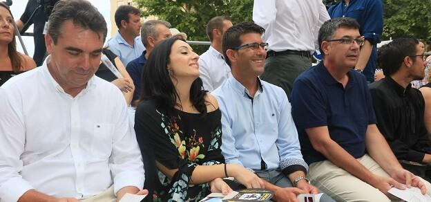 El presidente de la Diputación visita el municipio de la Safor y asiste a la entrada Mora declarada de Interés Turístico Autonómico.