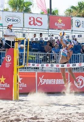 Es la segunda prueba del Madison Beach Volley Tour 2017 y el tercer año consecutivo que tiene una parada en Valencia.