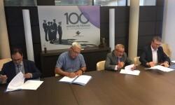 Firmado el protocolo de reestructuración de Feria Valencia.