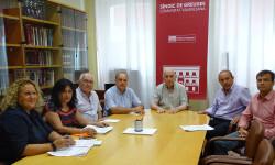 Foto reunion Plataforma con Sindic Greuges