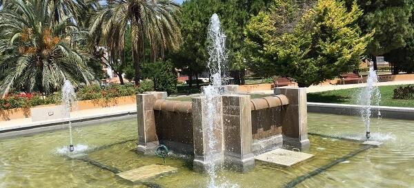 Fuente parque de Camales.