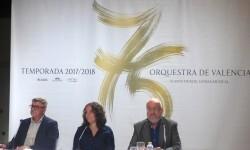 Glòria Tello presenta la programación de la Temporada 2017-18 del Palau de la Música.