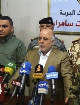 Haidar al Abadi anuncia la liberación de Mosul.