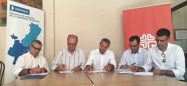 Hidraqua y sus empresas participadas amplían la colaboración con Cáritas gracias al proyecto 'Crea-T' para la ayuda a la educación y alimentación de menores en riesgo de exclusión.