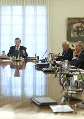 Imagen de un Consejo de Ministros.