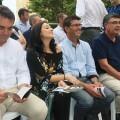 """Jorge Rodríguez destaca en Oliva la importancia de las fiestas """"como eje vertebrador de nuestro territorio""""."""