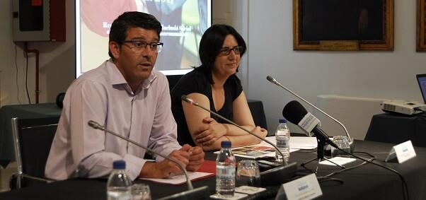 Jorge Rodríguez, junto a la diputada Rosa Pérez Garijo. - copia