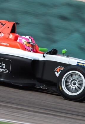 La piloto Marta García en la Fórmula 4 de la zona norte europea.