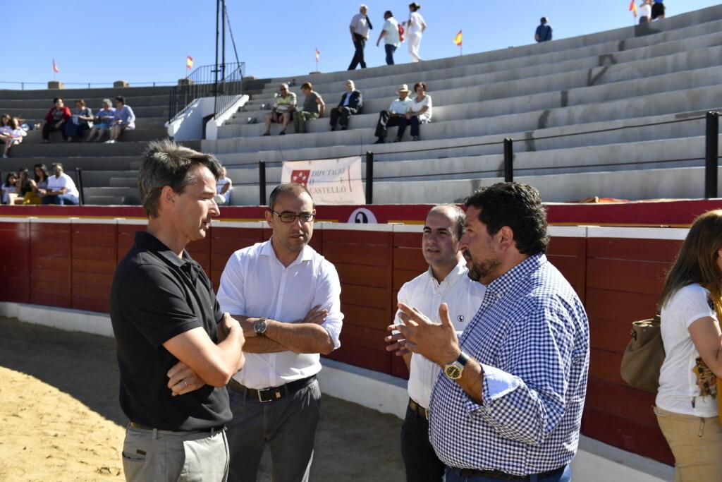 La plaza de toros de Vilafranca recupera su actividad después de que la Diputación haya invertido 114.000 euros en su rehabilitación