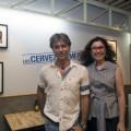Luis MIllet y Anabel Navas, directora de BWK
