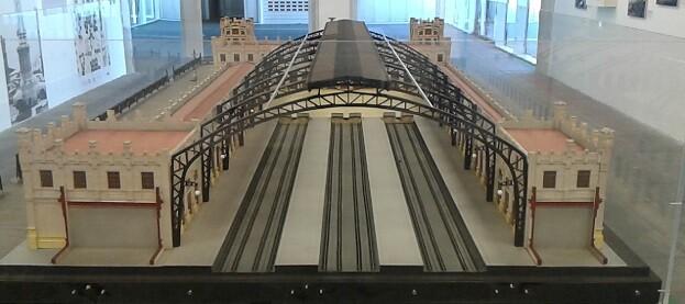 Marquesina Estación del Norte.