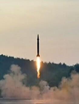 Misil de prueba lanzado por Corea del Norte. (Imagen de archvio).
