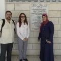 Oltra visita Cisjordania invitada por la Agencia de Naciones Unidas para los Refugiados.