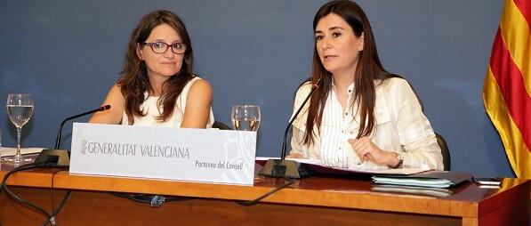 Oltra y Carmen Montón.