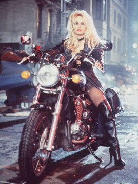 """3/29/96 PAMELA LEE STARS IN THE MOTION PICTURES """"BARB WIRE"""""""