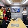 Puig agradece el 'esfuerzo' y el 'coraje' de todos los efectivos para 'controlar' el incendio de Gátova.