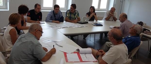 Reunión de AAVV de Benimaclet.