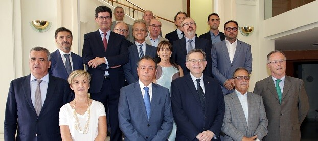 Reunión del comité ejecutivo de la Confederación Empresarial Valenciana (CEV).