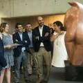 Rodríguez inaugura en el MuVIM la muestra del creador de las gárgolas del Pont del Regne.