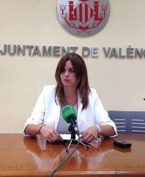 Sandra Gómez inaugura esta vesprada el programa VIT Emprén. (Sandra Gómez).