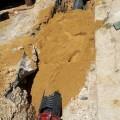 Técnico de Global Omnium durante la reparación