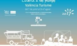 València Turisme proyecta 34 noches de cine en las playas.