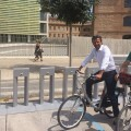 València contará esta semana con seis estaciones intermodales de bicicleta pública.